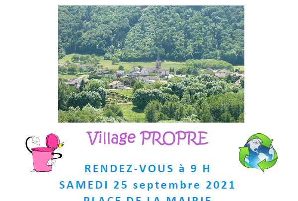 Journée Nettoyage Village Propre